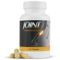 Natural joint pain relief for arthritis joint pain